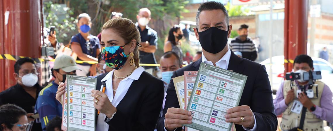 En esta Jornada Electoral gana Oaxaca con la participación ciudadana: AMH