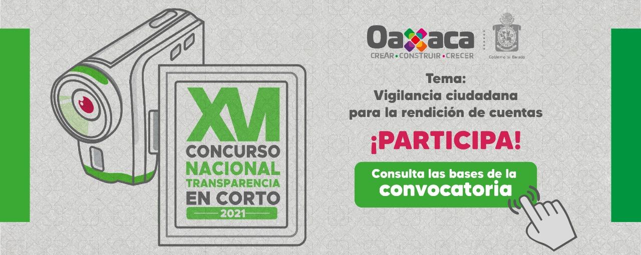 """XVI Concurso Nacional de Transparencia en Corto 2021, Tema: Vigilancia Ciudadana para la rendición de cuentas"""""""