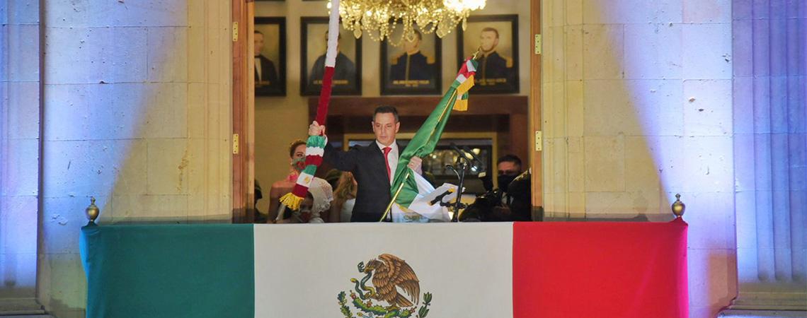 Conmemora Alejandro Murat 211 Aniversario de la Independencia de México