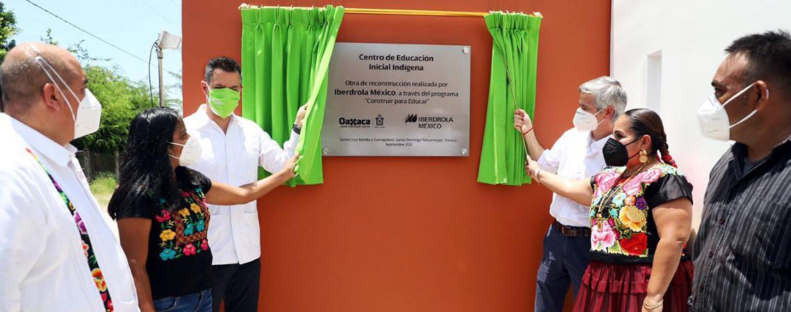 En Oaxaca, Gobierno del Estado e iniciativa privada construyen para educar