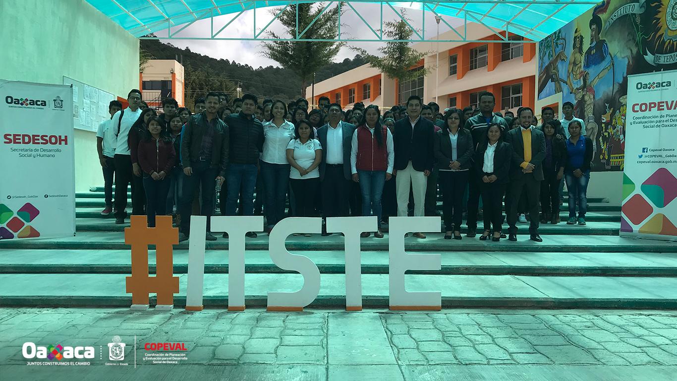 Firma del Convenio de Colaboración con el Instituto Tecnológico Superior de Teposcolula