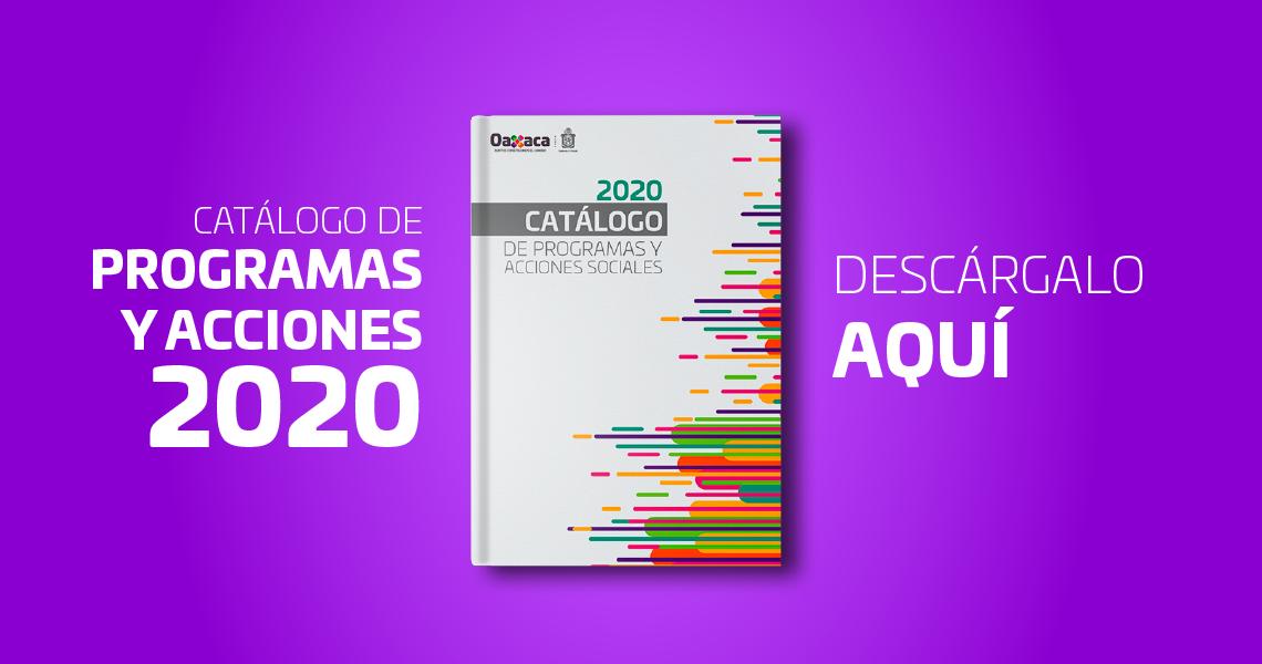 Servicios COPEVAL Catálogo de Programas 2020