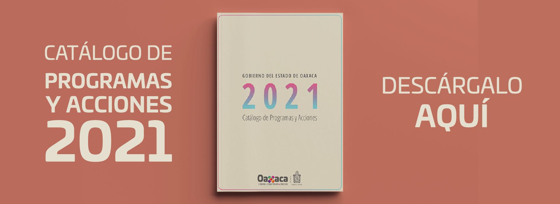 Catálogo de programas y acciones