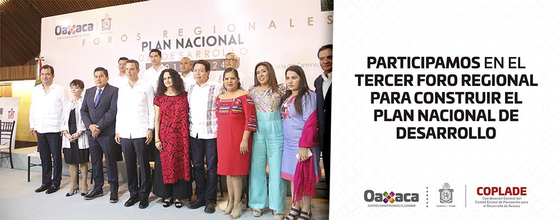 Oaxaca partícipe de las principales iniciativas del Plan Nacional de Desarrollo: Alejandro Murat