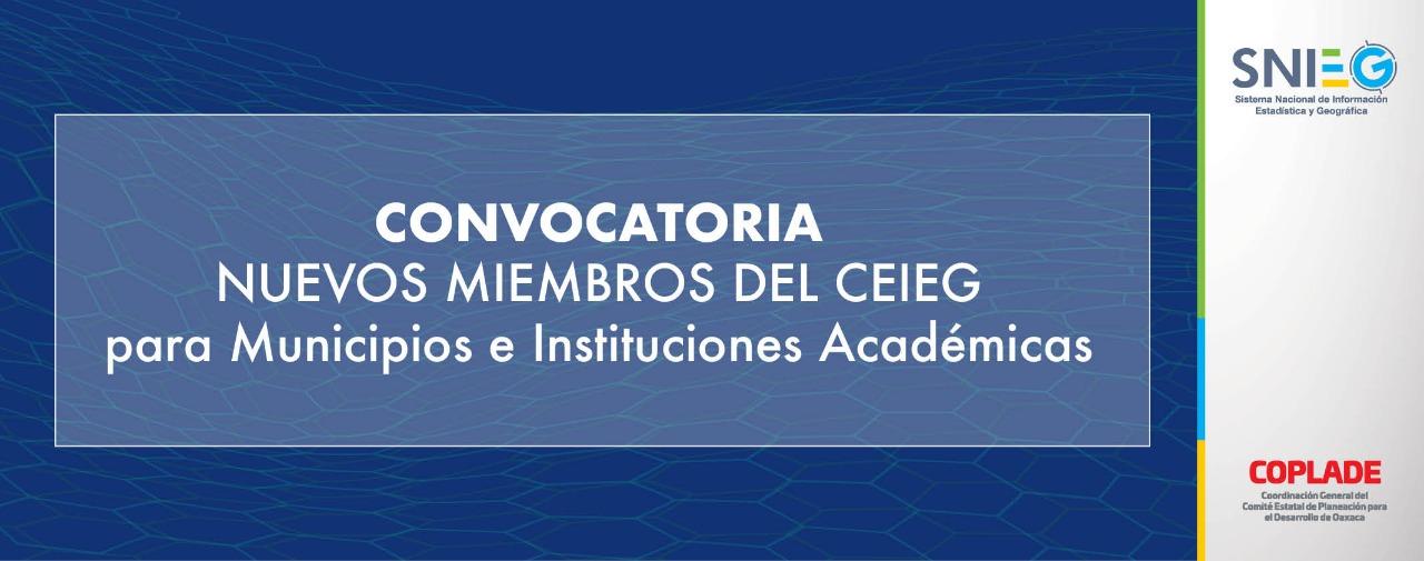 Municipios y Universidades se sumarán al Comité de Estadística
