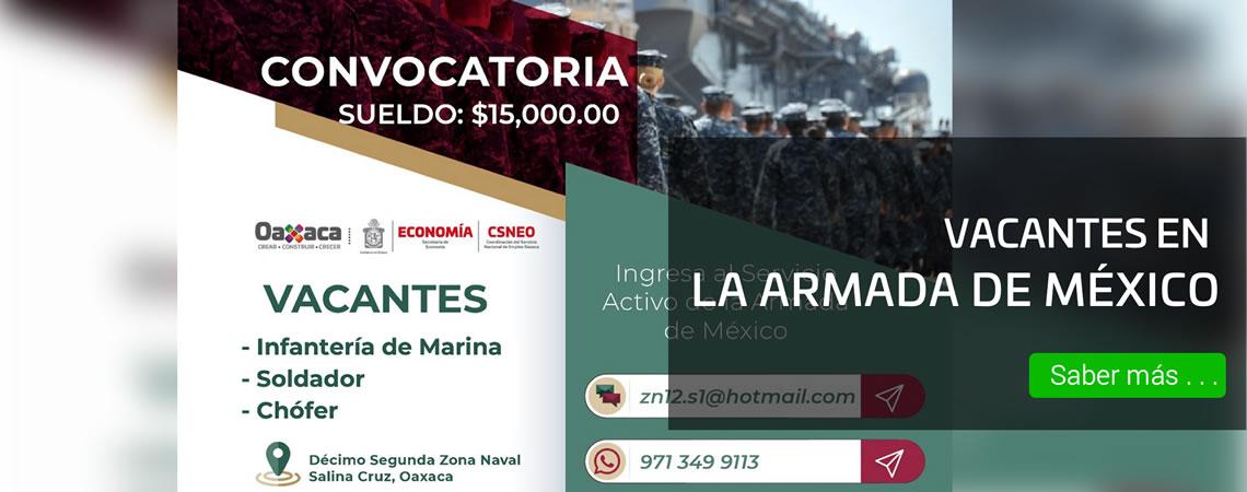 Ingresa al Servicio Activo de la Armada de México