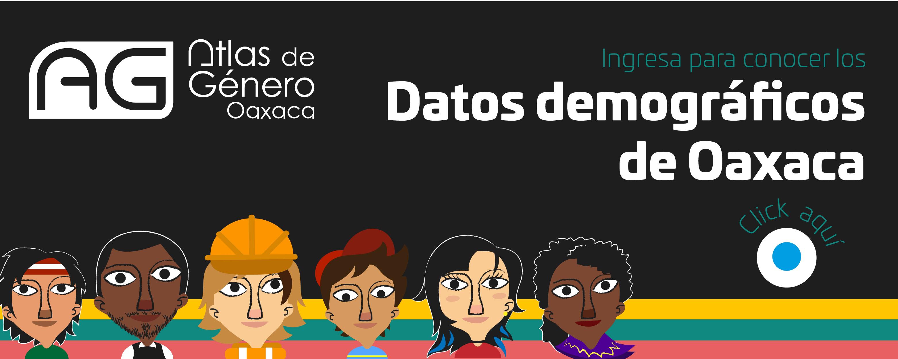 Atlas de Género del Estado de Oaxaca