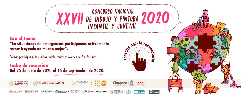 27 CONCURSO DE DIBUJO INFANTIL Y JUVENIL 2020