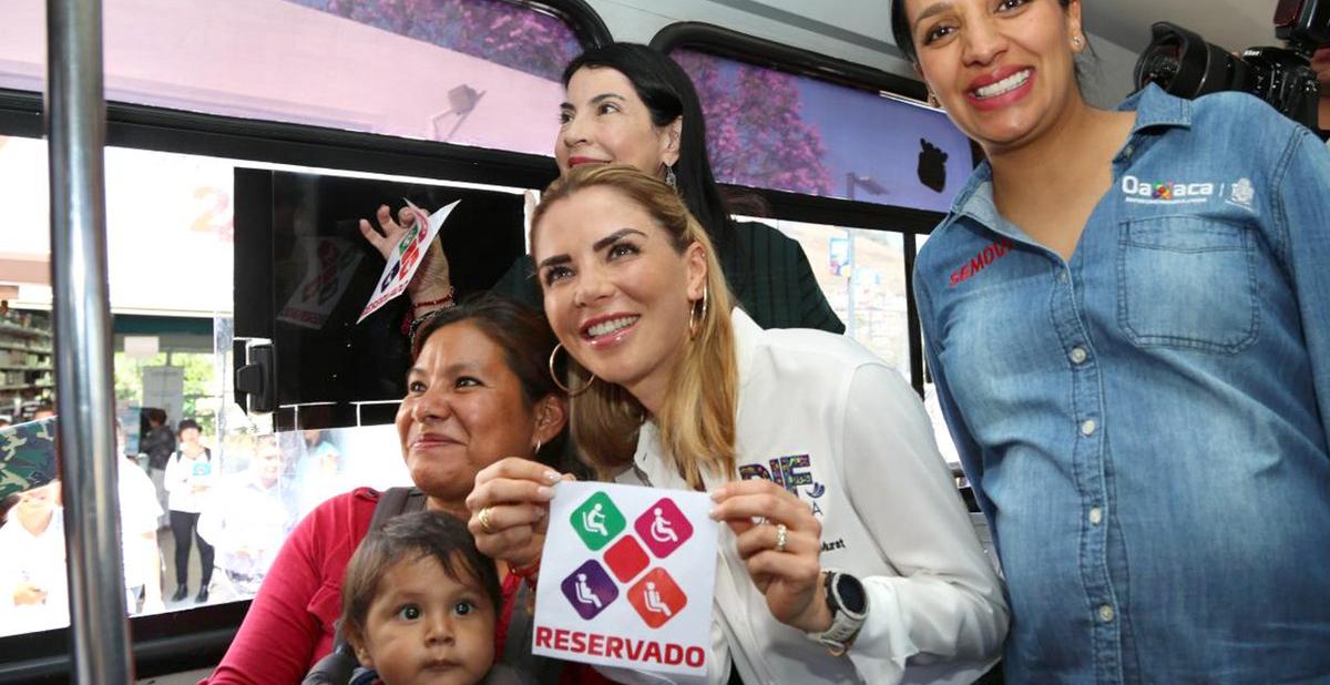 """Se da inicio al programa """"Asiento preferente e incluyente"""" en la ciudad de Oaxaca"""