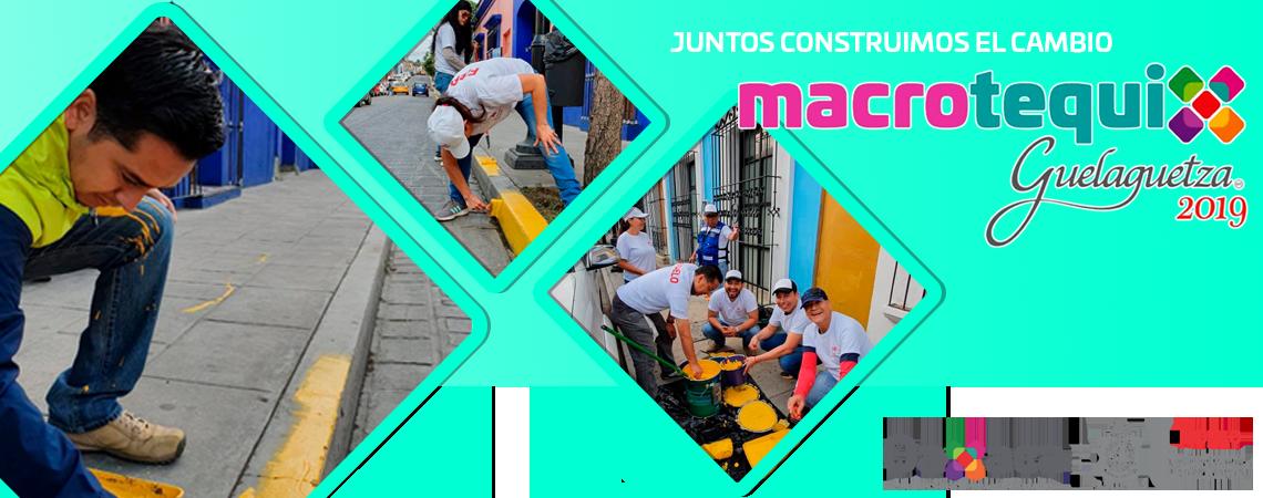 Macro tequio Guelaguetza 2019