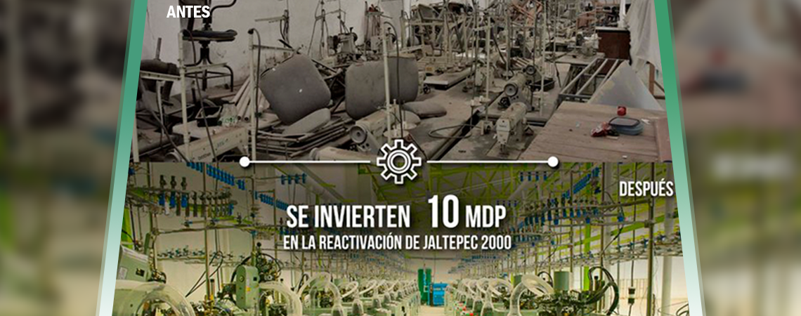 Se invierten10 MDP en la reactivación de Jaltepec 2000