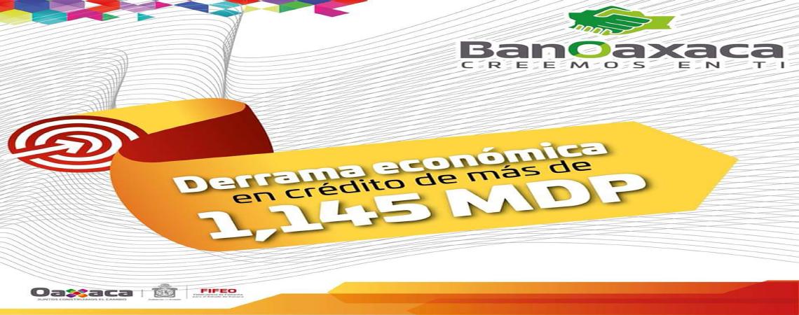 Derrama Economica en el Estado de Oaxaca