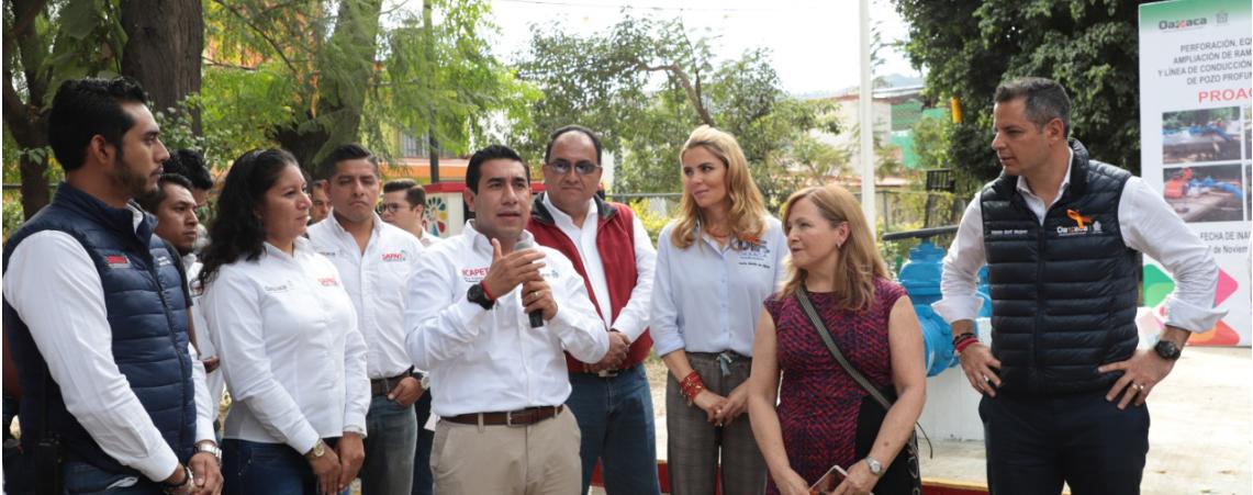 El fortalecimiento de la infraestructura hídrica de Oaxaca, un compromiso del gobierno de Alejandro Murat