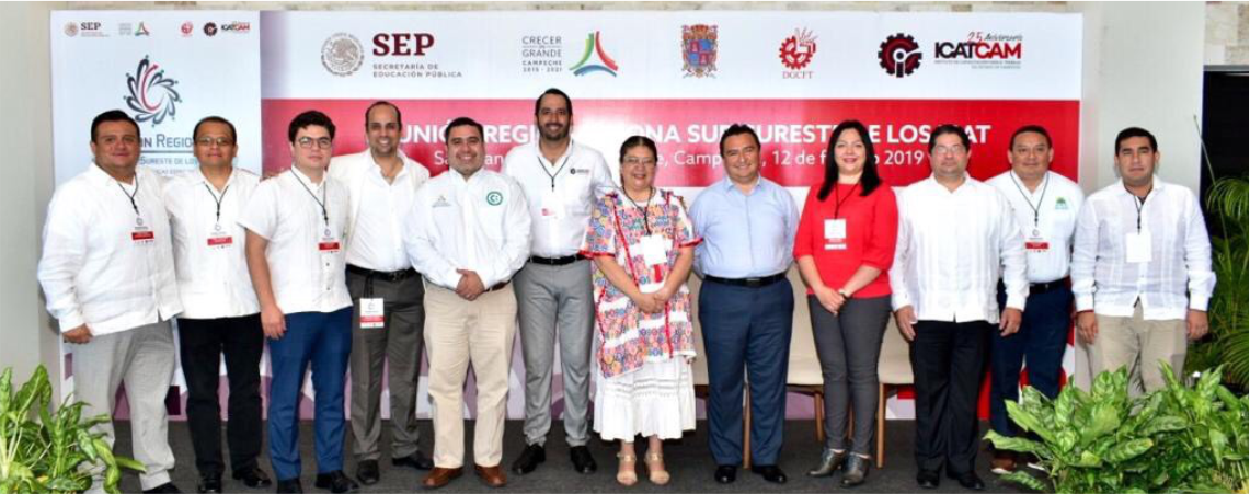 Participa Icapet en Reunión Regional de los ICAT en Campeche