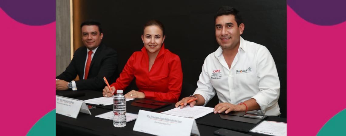 Firman Icapet y Universidad Anáhuac convenio de colaboración para capacitación