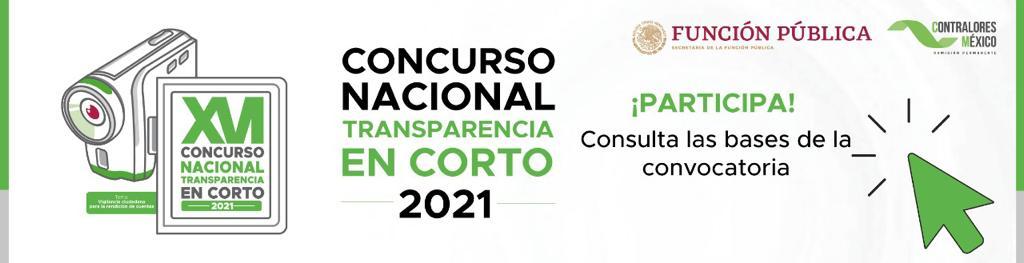 Concurso Nacional Transparencia en Corto 2021