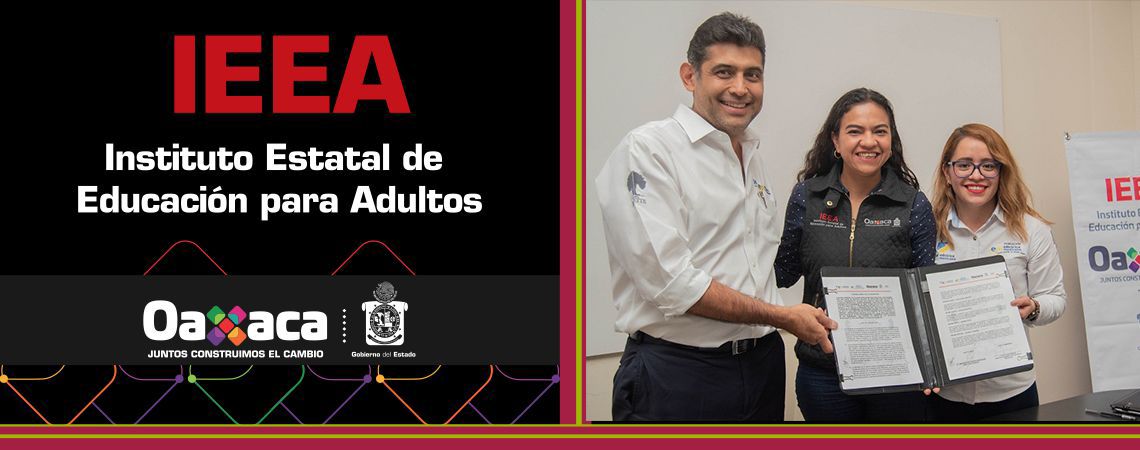 Firma IEEA convenio con Eléctrica Mexicana