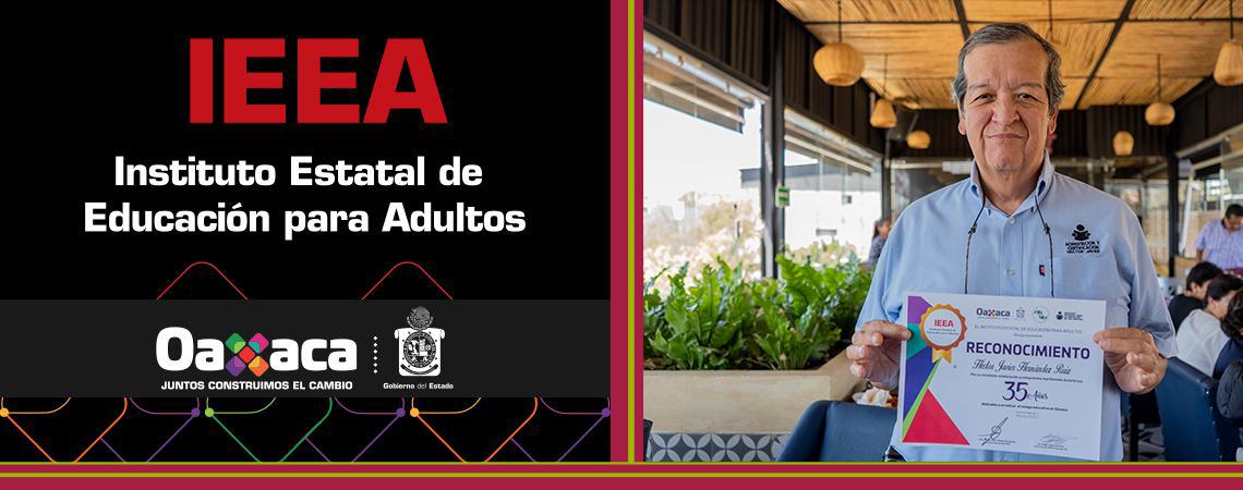 Reconoce IEEA a trabajadoras y trabajadores por 10, 20, 25, 30 y 35 años de servicio.