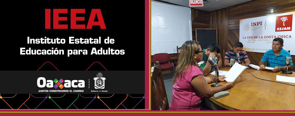 """Impulsa IEEA programa radiofónico """"Aprende en Casa"""", en las comunidades indígenas de Oaxaca"""