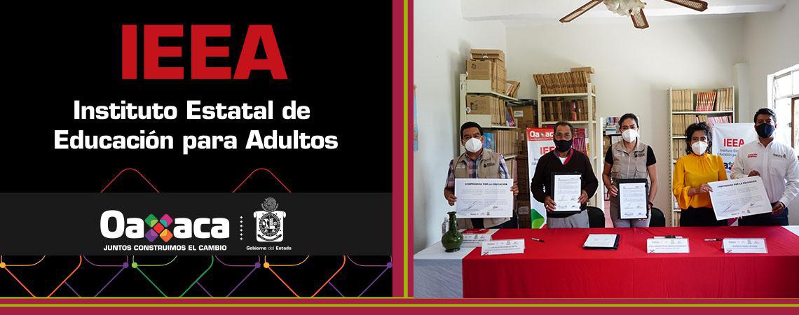 Santa María Atzompa se integra a estrategia educativa para personas adultas del IEEA