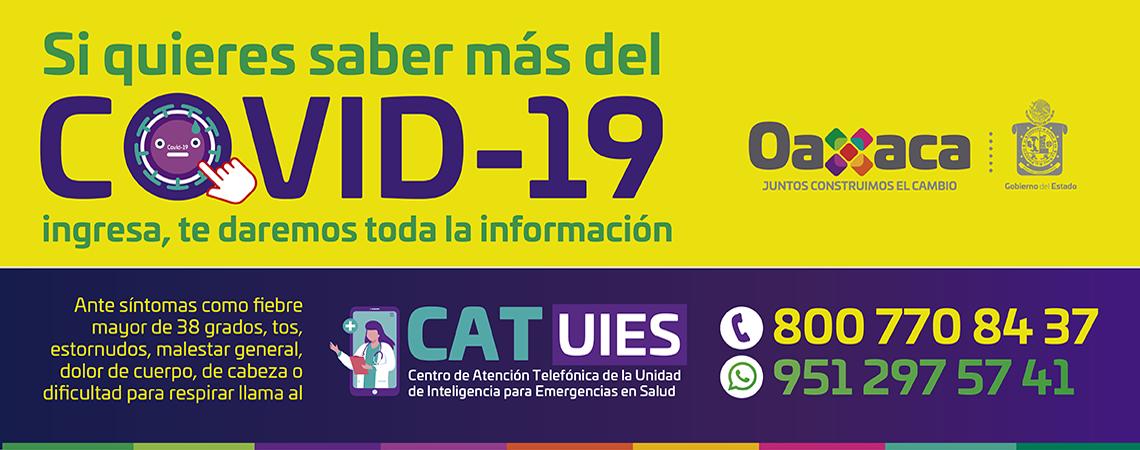 Covid-19 Oaxaca