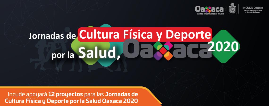Incude apoyará 12 proyectos para las Jornadas de Cultura Física y Deporte por la Salud Oaxaca 2020