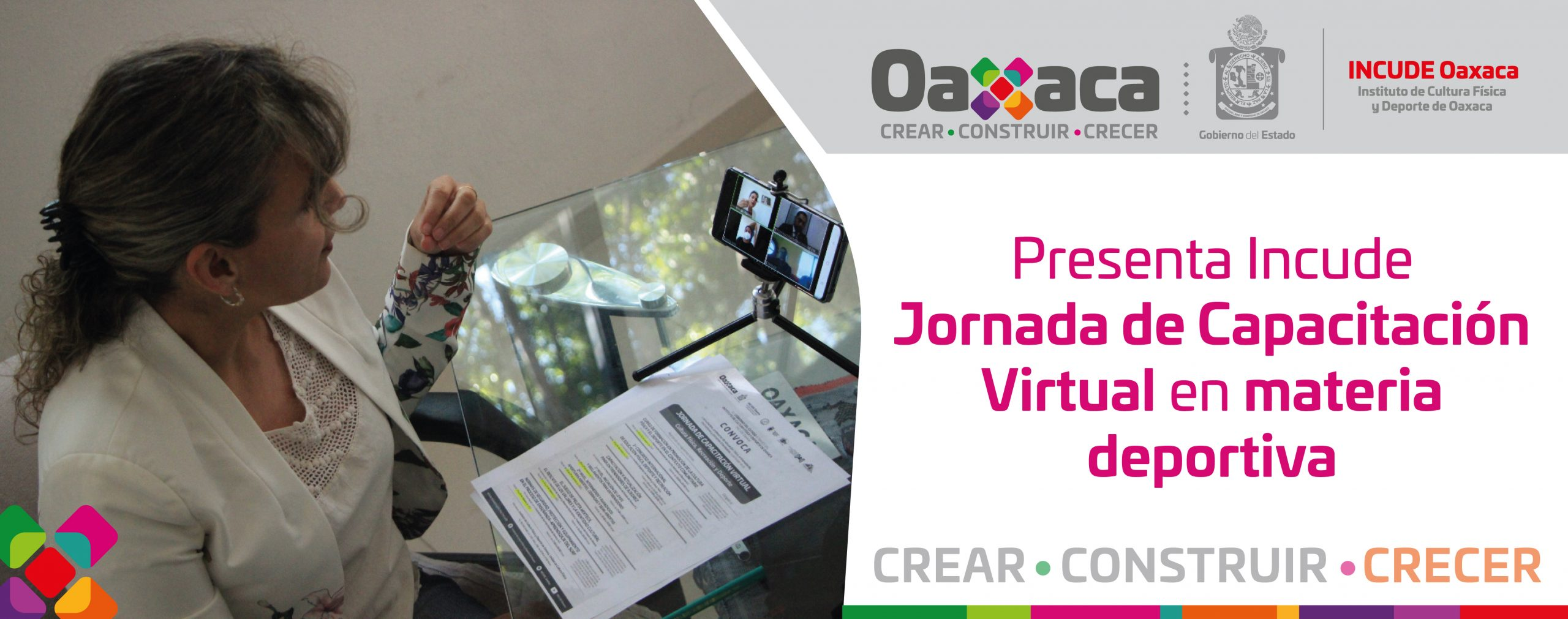 Presenta Incude Jornada de Capacitación Virtual en materia deportiva