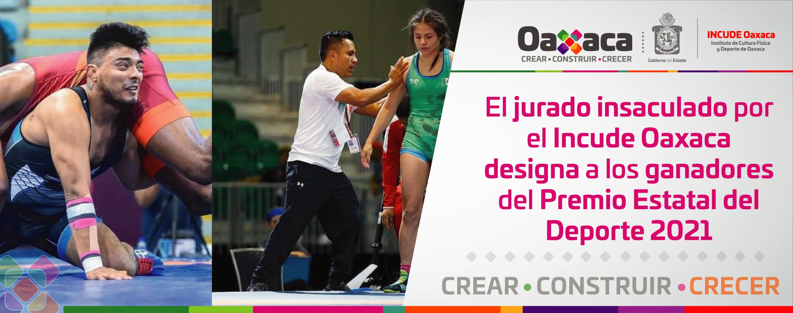 El jurado insaculado por el Incude Oaxaca designa a los ganadores del Premio Estatal del Deporte 2021