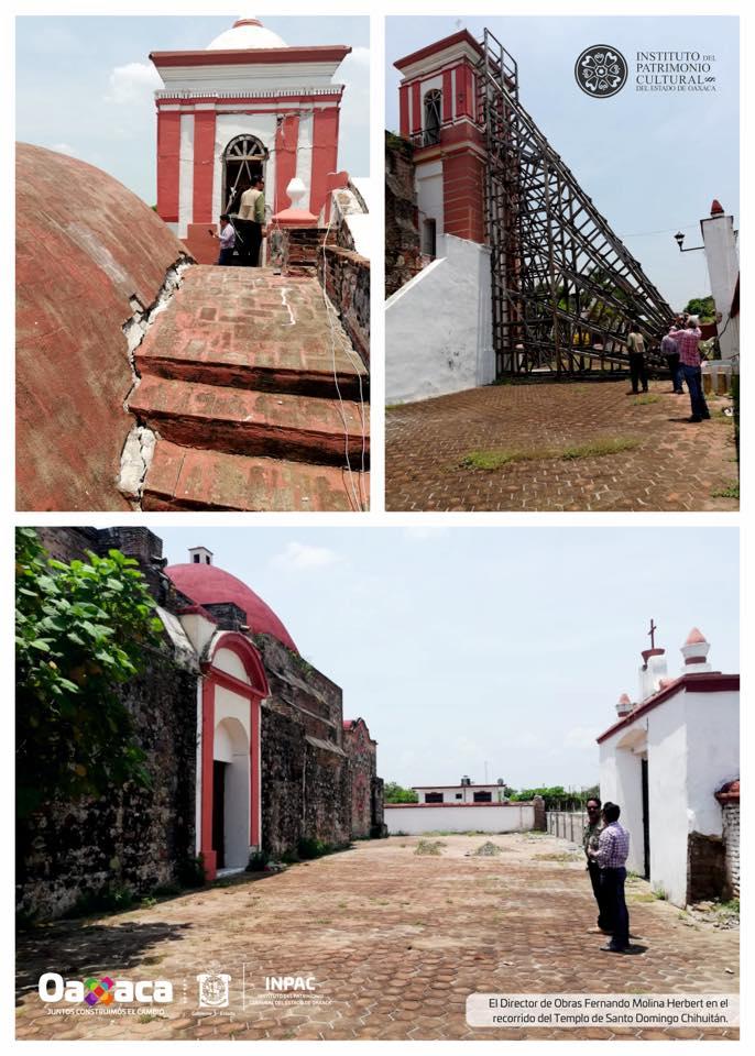 Recorre INPAC en Santo Domingo Chihuitán