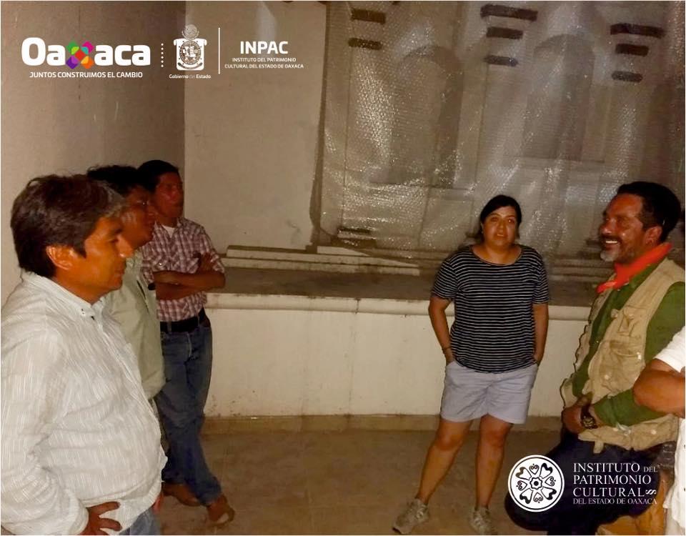 San Pedro Comitancillo recibe visita de arquitectos del INPAC