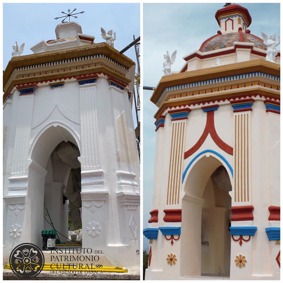 Avances en San Niguel Arcángel, Tlalixtac
