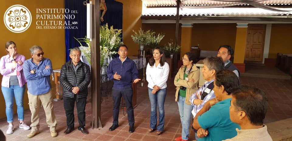 Arranca INPAC obra de restauración del Templo de San Andrés Huayapam