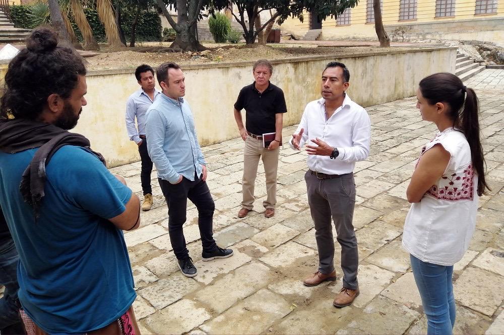 Realiza INPAC trabajos de rehabilitación en el Centro de las Artes de San Agustín