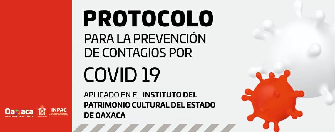 Protocolo para la prevención de contagios por COVID-19. INPAC