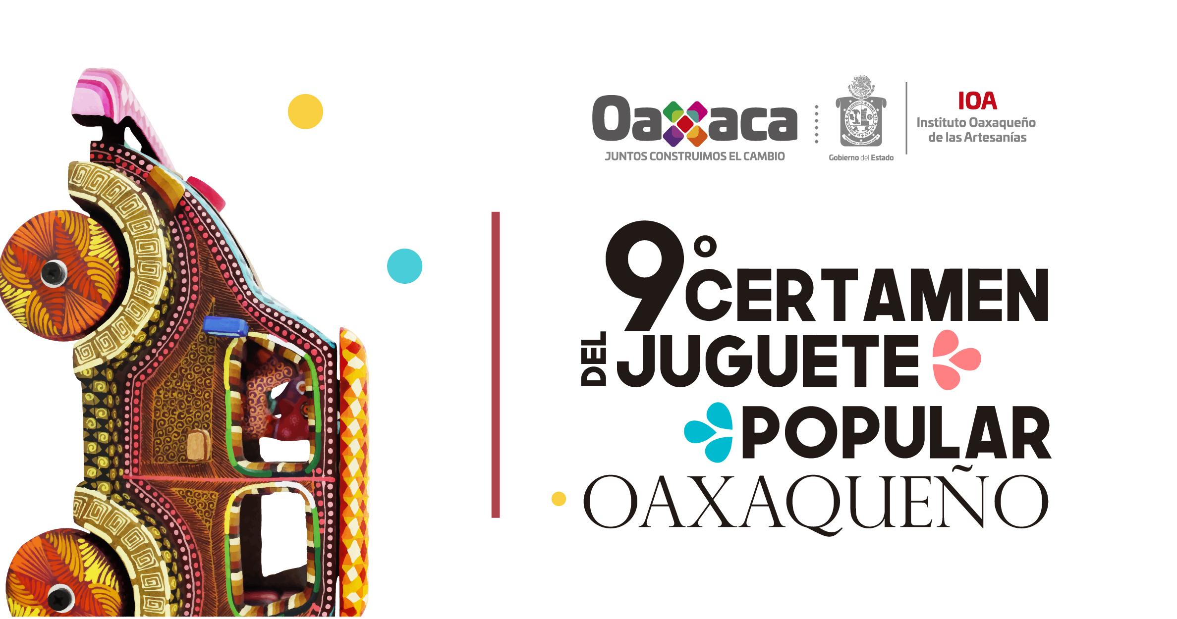 Noveno Certamen del Juguete Popular Oaxaqueño 2020