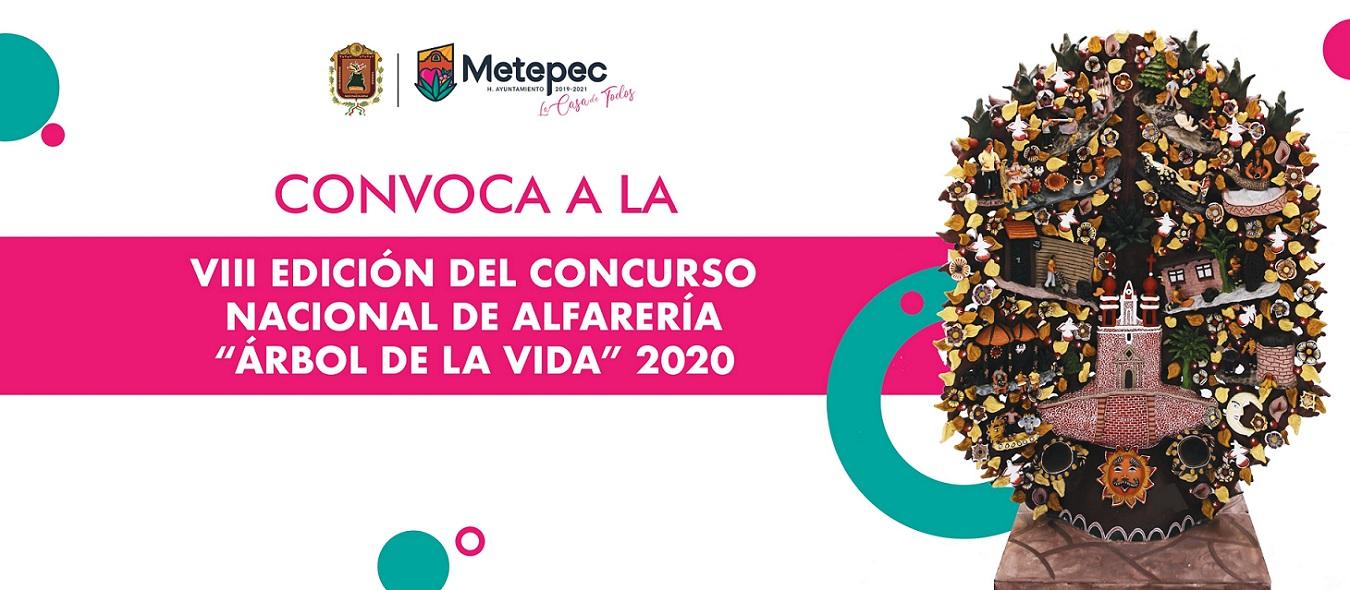 """Convocatoria Concurso Nacional de Alfarería """"Árbol de la Vida"""" 2020"""