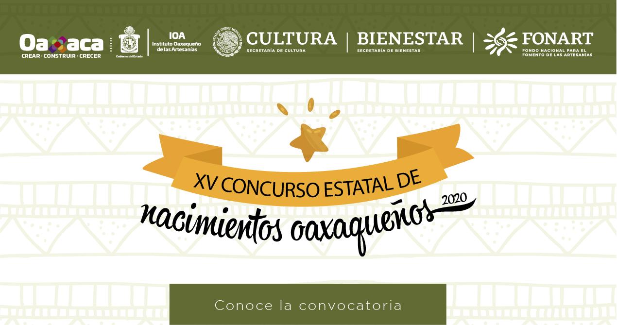 XV Concurso Estatal de Nacimientos Oaxaqueños 2020