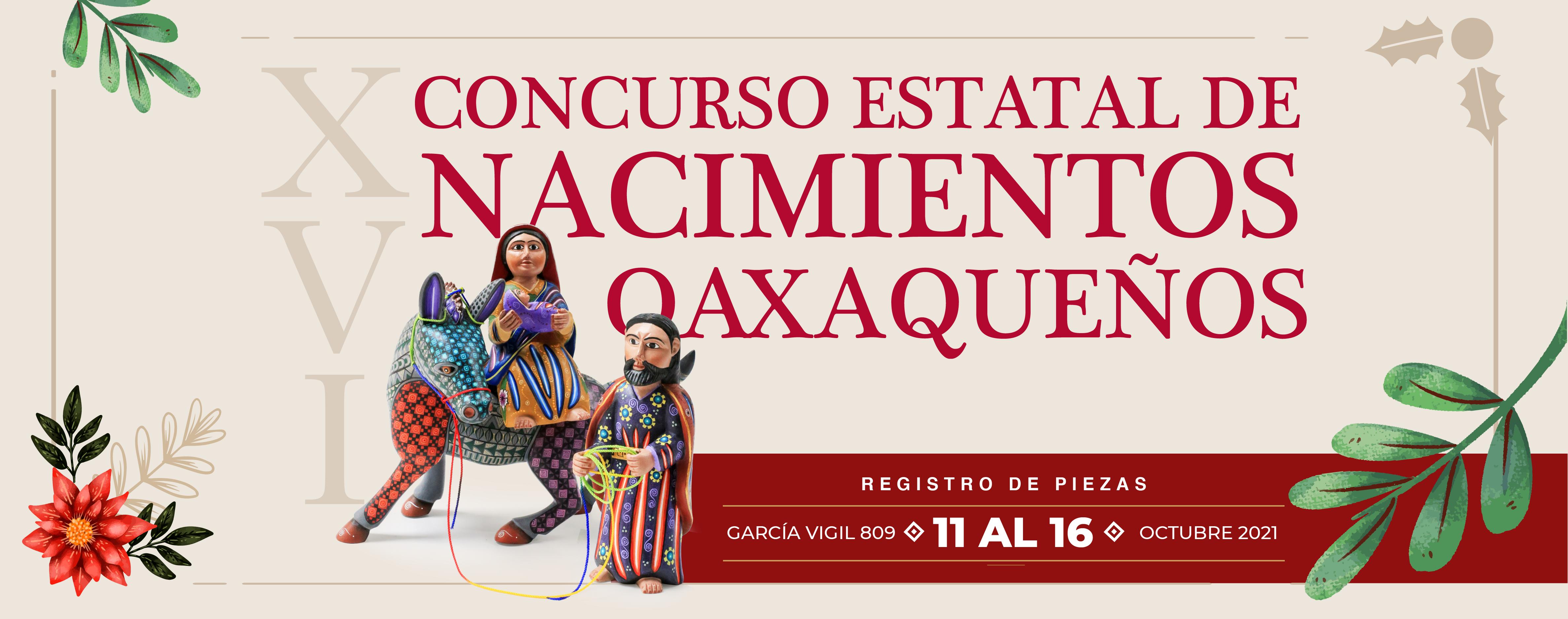 Concurso Estatal de Nacimientos Oaxaqueños
