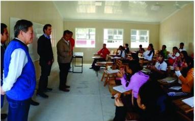Programa de reconstrucción de la región del istmo debido a los sismos del 7, 19 y 23 de septiembre.