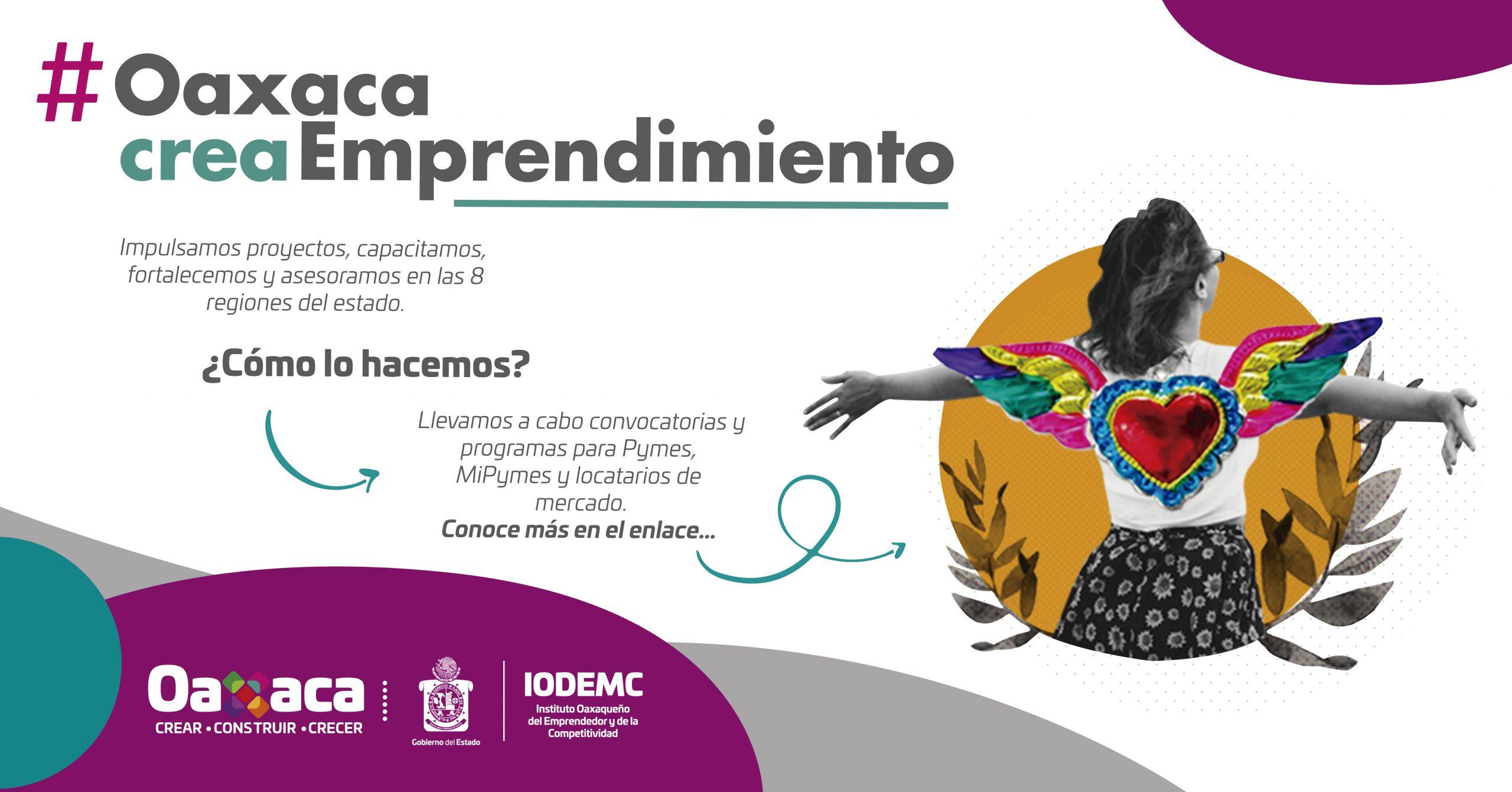 Oaxaca #creaEmprendimiento