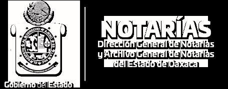 Dirección General de Notarías y Archivo General del Estado de Oaxaca