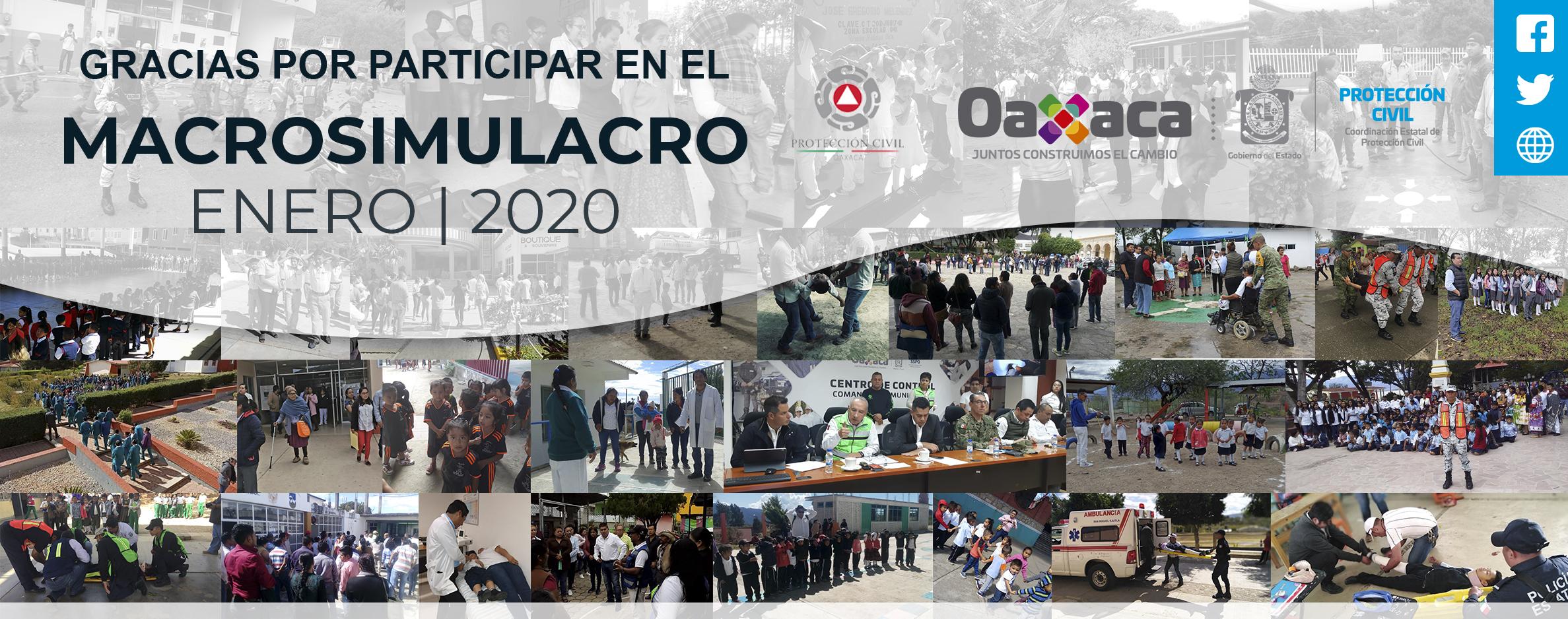 GRACIAS POR PARTICIPAR EN EL MACROSIMULARO 2020