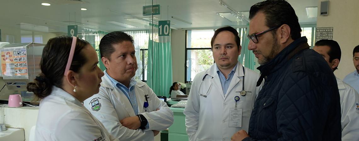 Fortalece SSO atención médica a niño de 2 años.
