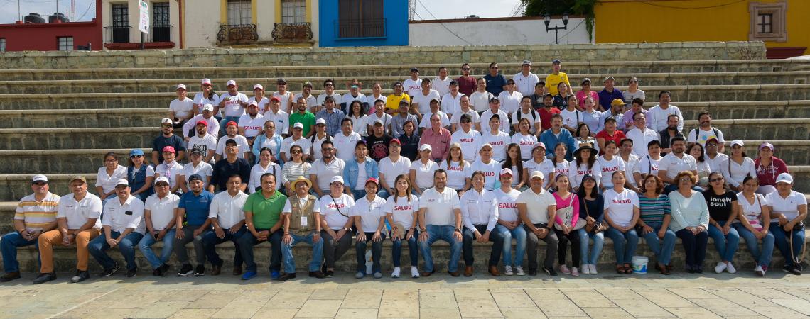 Participa SSO en Macro Tequio Guelaguetza 2019.