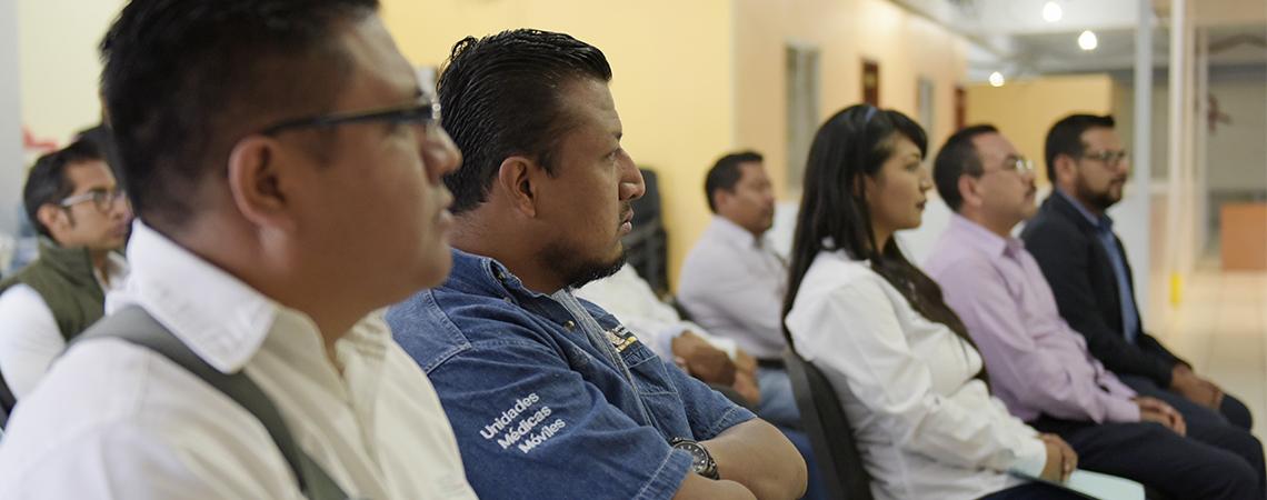 Capacita SSO a personal del Programa de Fortalecimiento a la Atención Médica.