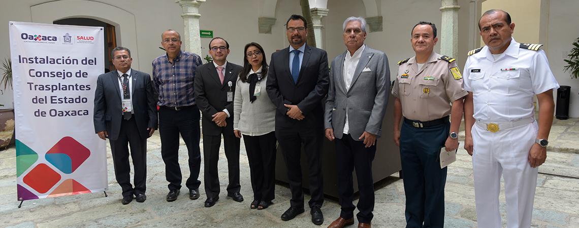 Instalan en Oaxaca Consejo normativo para incrementar la donación de órganos.