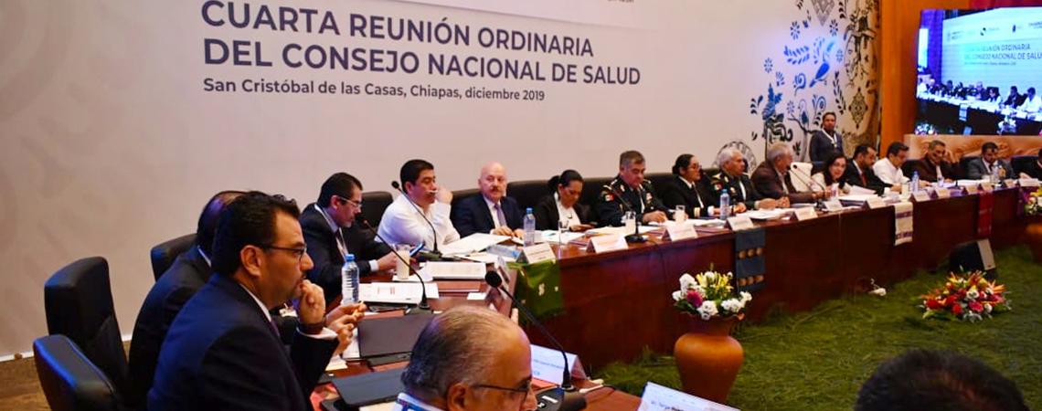 Secretario de Salud se reúne con homólogos  de las 31 entidades federativas.