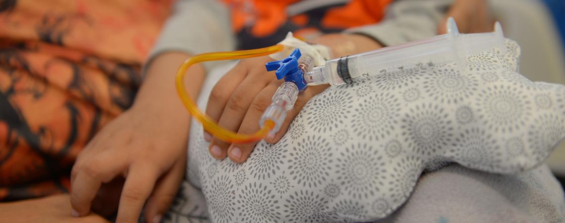 Recibe hospital de la Niñez medicamentos oncológicos.