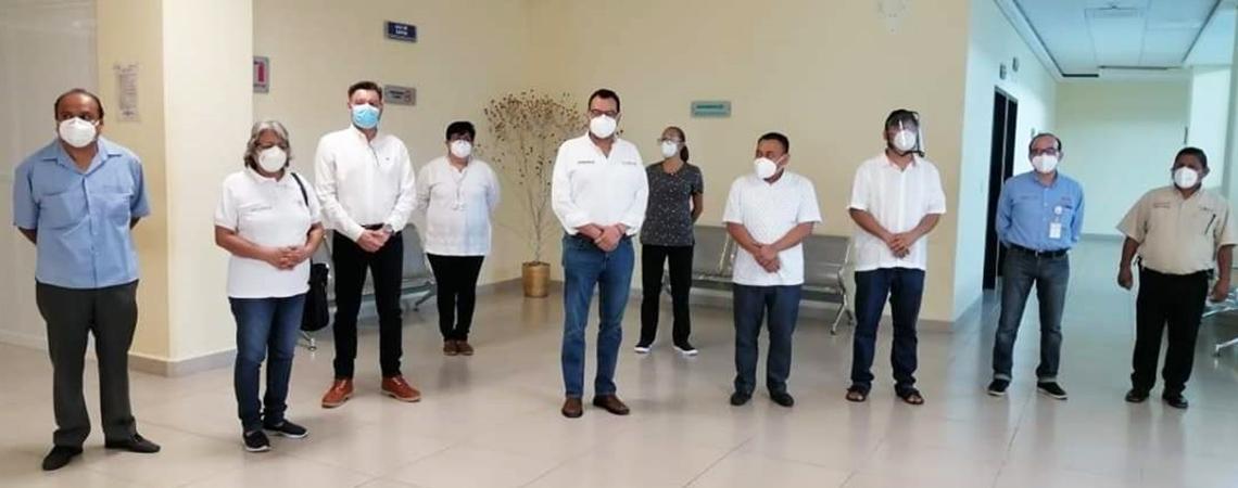 Refuerza SSO atención médica y seguridad de las y los usuarios en la región del Istmo.