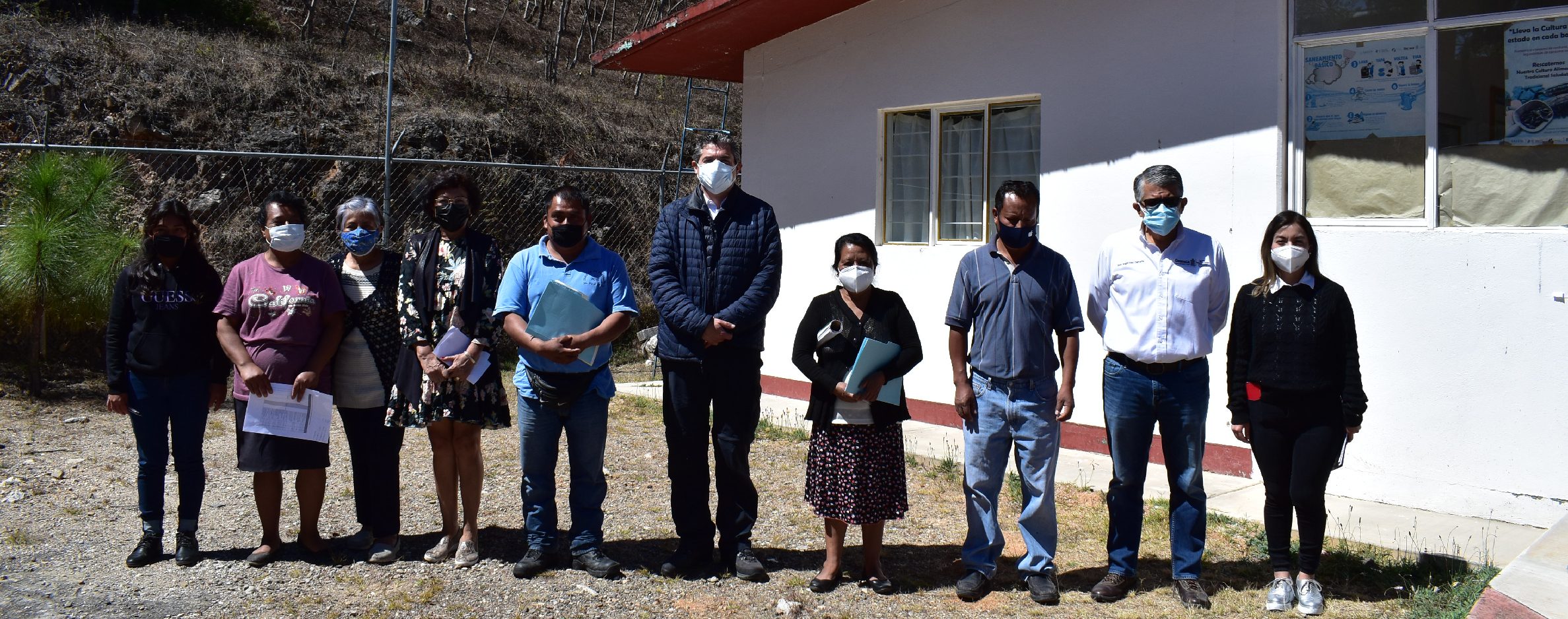 Supervisan los SSO y la SCTG servicios médicos en comunidades de la Jurisdicción Sanitaria de la Sierra.